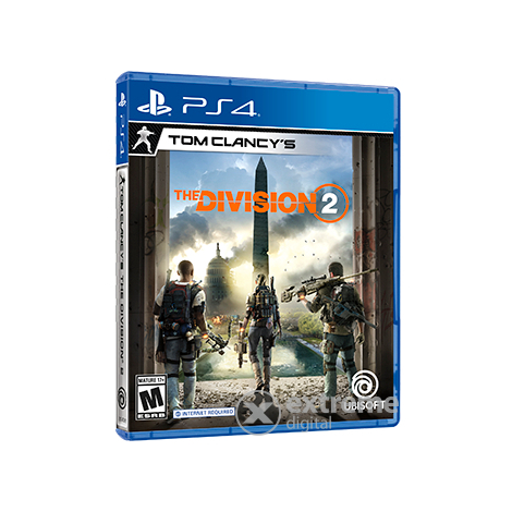Tom Clancy`s The Division 2 PS4 játékszoftver