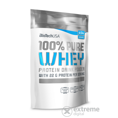 100% Pure Whey 454g karamell-cappuccino
