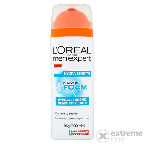 L`Oréal Paris Men Expert Hydra Sensitive borotvahab érzékeny bőrre, 200 ml