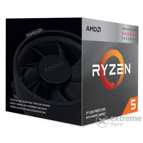 AMD AM4 Ryzen 5 3400G 3,7GHz procesor