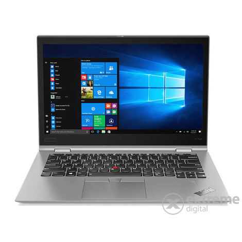 Lenovo ThinkPad X1 Yoga 3 20LF000UHV Touch notebook, ezüst + Windows 10 Pro