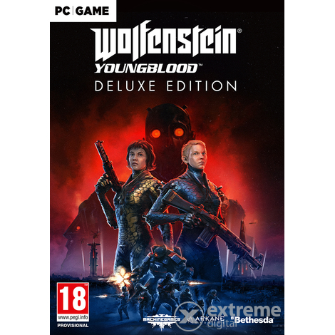 Bethesda Softworks Wolfenstein Youngblood Deluxe Edition PC játékszoftver