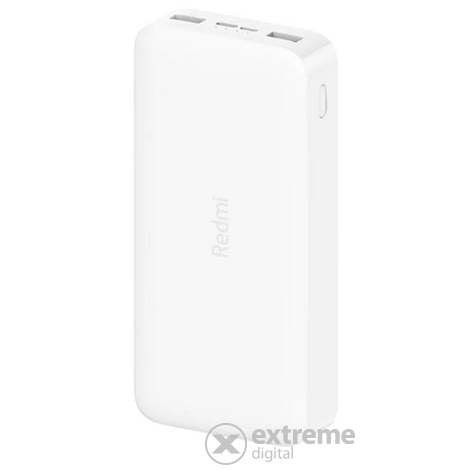 Xiaomi Redmi 20000mAh 18W power bank, bijela