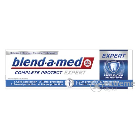 Blend-a-Med Pro Expert All in one fogkrém, Fresh mint (100ml)