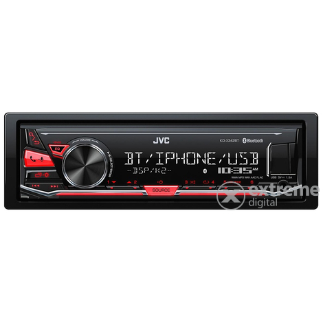 JVC KD-X342BT rádio, bluetooth handsfree