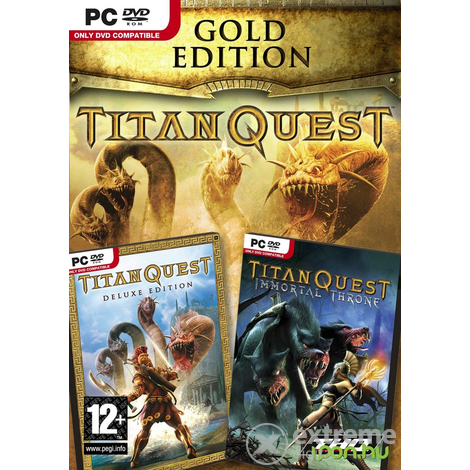 Titan Quest Gold Edition PC herní software