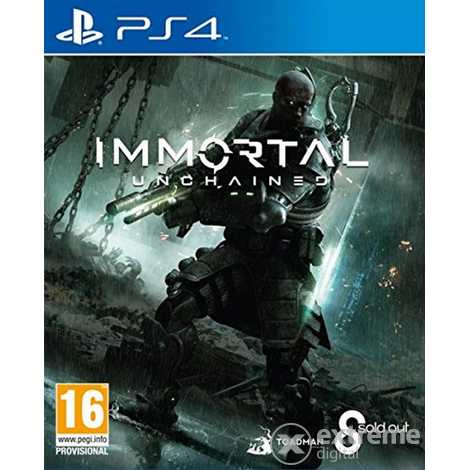 505 Games Immortal Unchained PS4 játékszoftver
