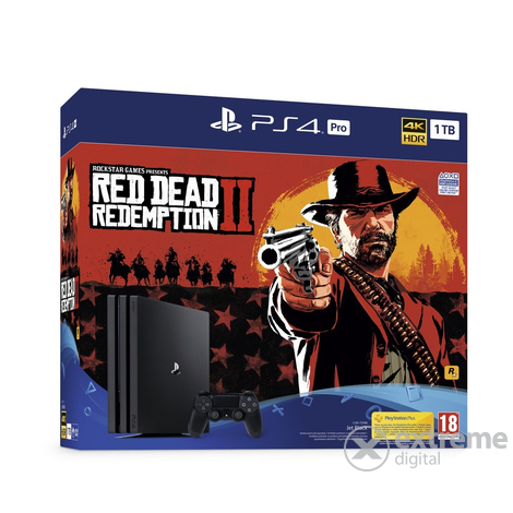 PlayStation® PS4 Pro 1TB konzola + Red Dead Redemption 2