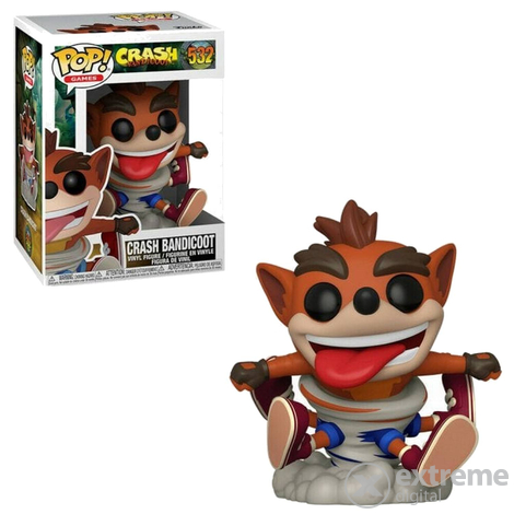 Funko Pop Games figura, Crash Bandicoot