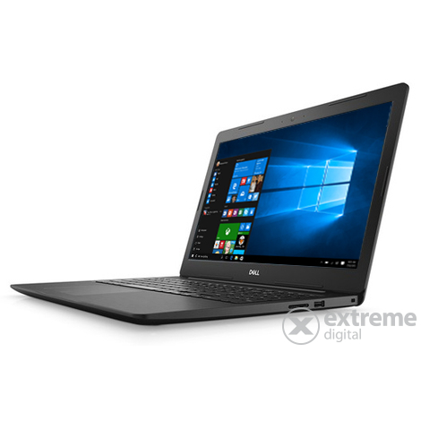 Dell Inspiron 5570 5570FI5WF1 FHD notebook, fekete + Windows 10 Home - [Bontott]