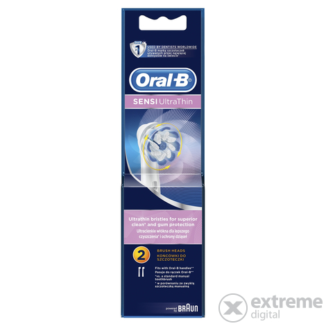 Oral-B EB60-2 Sensi Ultrathin pótfej, 2 db