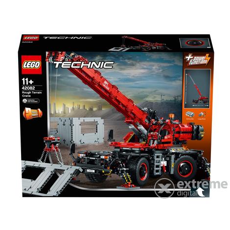 lego technic gel ndeg ngiger kranwagen 42082 extreme. Black Bedroom Furniture Sets. Home Design Ideas