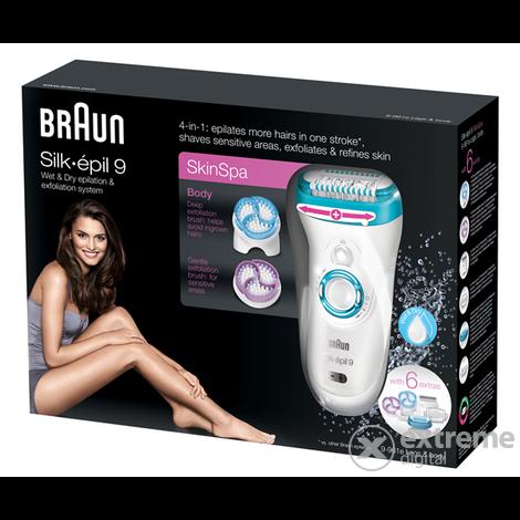 Braun Silk-épil9 SE9961e Epilátor szett  cb174c3676