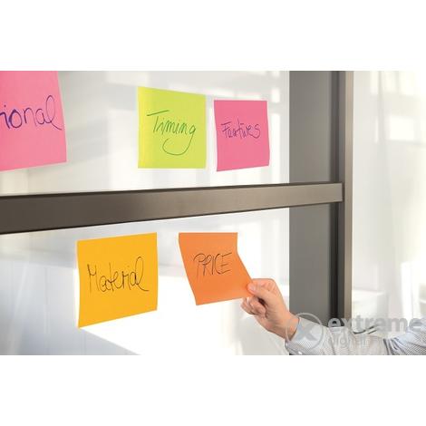 3M Post-it® Öntapadó jegyzettömb  45 lap  149x200 mm  vegyes színek