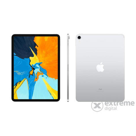 "Apple iPad Pro 11"" + Cellular 256GB, ezüst (mu172hc/a)"