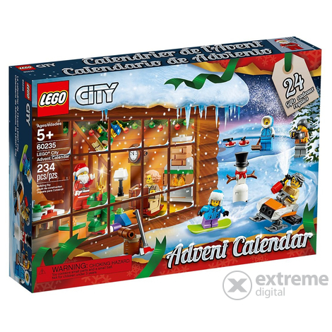 LEGO® City 60235 City Adventi Naptár