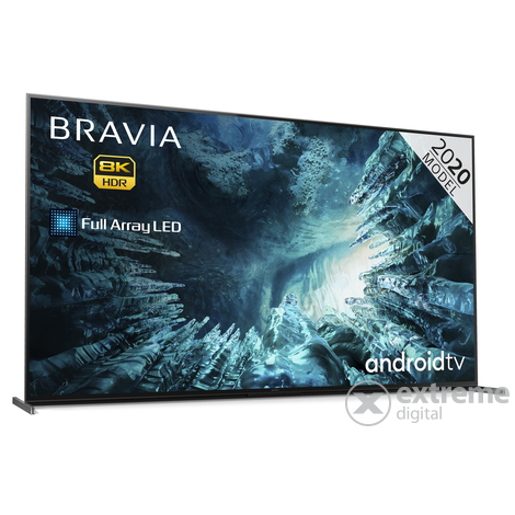 Sony KD75ZH8BAEP Bravia 8K Full Array LED  Android SMART HDR LED televízió