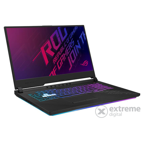 Asus ROG Strix G17 G712LU-H7032 gamer notebook, fekete
