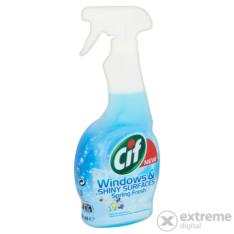 Cif Blue ablaktisztító spray, 500ml