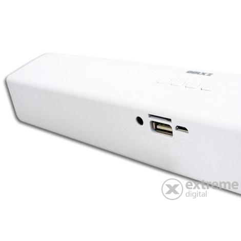Approx Billow ZX100W Bluetooth Soundbar + USB bemenet + FM rádió 6W Fehér
