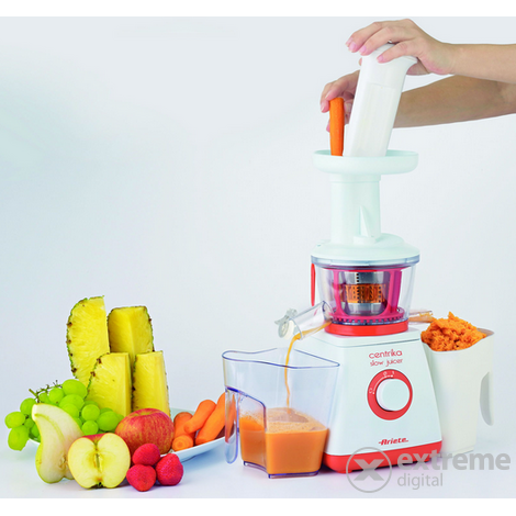 Ariete Centrika Slow Juicer Orange 176 : Ariete 176 Centrika Orange slow juicer gyumolcscentrifuga Extreme Digital