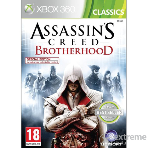 Игра Assassins Creed Brotherhood Classic за Xbox 360