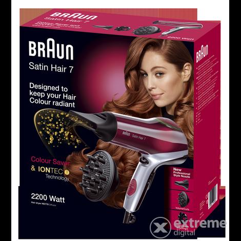 Braun Satin-Hair 7 HD770 DF5 color hajszárító új szűkítő feltéttel ... 2c4ef0e04f