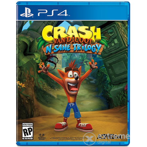 Crash Bandicoot N´Sane Trilogy PS4 hrací softvér