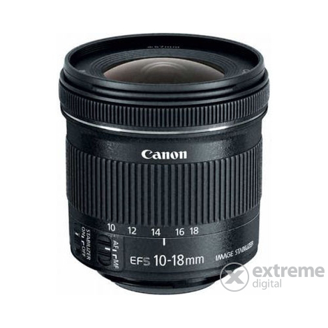 Canon 10-18/4.5-5.6 IS STM EF-S objektív + starter kit