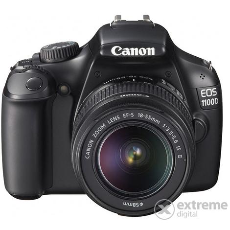 04b8853bea Canon EOS 1100D digitális fényképezőgép (18-55mm IS objektívvel), fekete