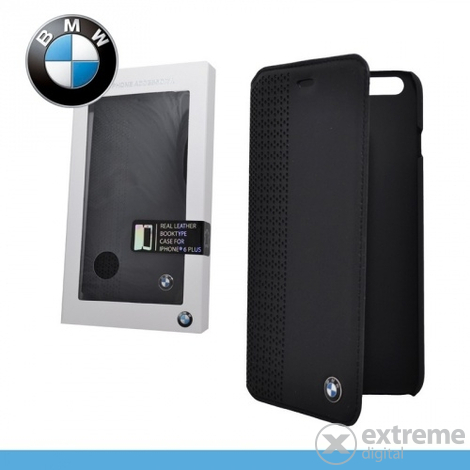 Кожен калъф  BMW PERFORATED за Apple iPhone 6 Plus 5.5``черен