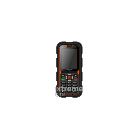 Мобилен телефон ConCorde Raptor P60 (Dual SIM), Black/Orange