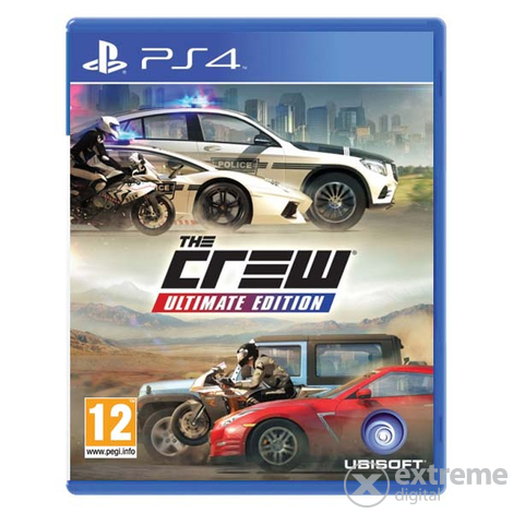 Ubisoft The Crew Ultimate Edition PS4 játékszoftver