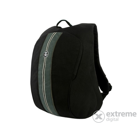Rucsac Crumpler Messenger Boy Full Photo Backpack, negru/argintiu