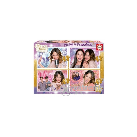 Educa Disney Violetta Super Pack