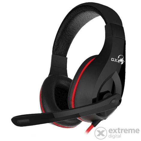 Genius HS G560 Gaming Headset Black mikrofonos fejhallgató
