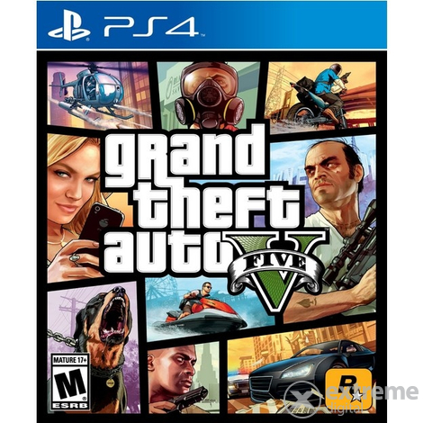 Игра Grand Theft Auto V EN (GTA V) PS4
