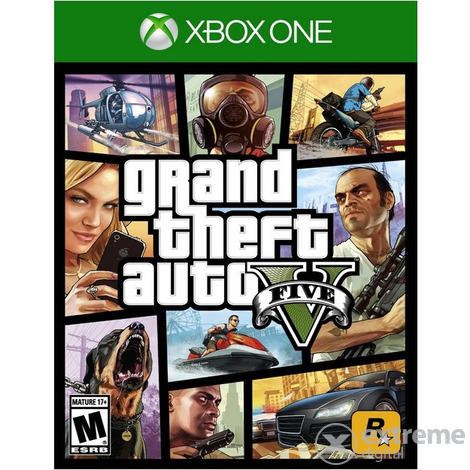 Grand Theft Auto V EN (GTA V) Xbox One játékszoftver