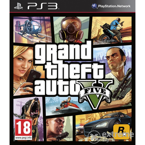 Grand Theft Auto V (GTA V) PS3 softver igra