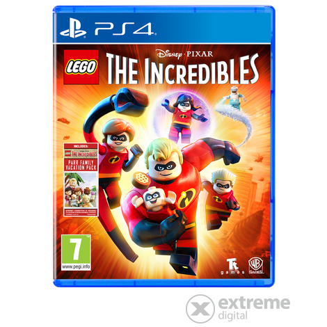 LEGO The Incredibles PS4 játékszoftver