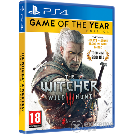 The Witcher III: Wild Hunt Game Of The Year Edition PS4 Spiel
