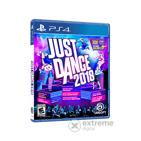 Just Dance 2018 PS4 játék