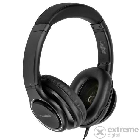 Panasonic RP HD6ME fejhallgató, fekete | Extreme Digital