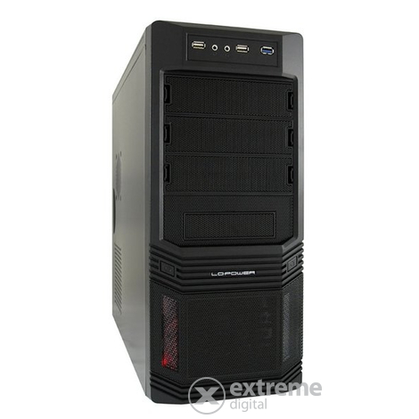 Carcasă PC LC Power Case-Pro-925B Pro-Line 600W
