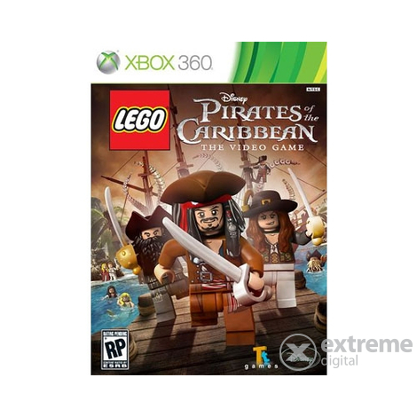 Lego Pirates of the Caribbean XBOX360 hra