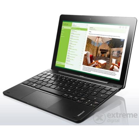 Lenovo MIIX 300 (80NR001YHV) 32GB Wi-Fi tablet + dokkol�, fekete (Windows 8.1) + Microsoft Office 365 1 �ves license