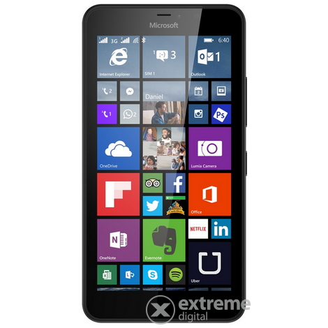 Microsoft Lumia 640 XL LTE pametni telefon, Black (Windows Phone)