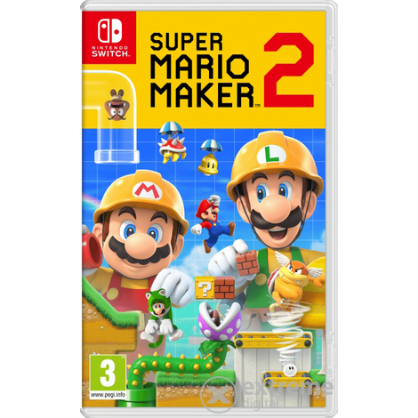 Super Mario Maker 2 Nintendo Switch játékszoftver