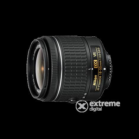 67fd7553c449 Nikon D5600 DSLR fényképezőgép kit (AF-P 18-55mm VR + AF-P 70-300mm ...
