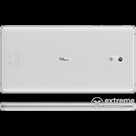 nokia 3 single sim smartphone ohne vertrag white android. Black Bedroom Furniture Sets. Home Design Ideas